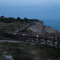 Carvoeiro installs LED lighting along boardwalk